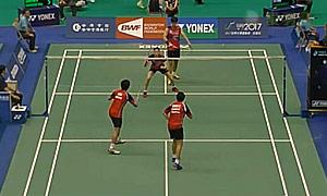高成炫/金荷娜VS安德烈/玛丽莎 2015台北公开赛 混双1/8决赛视频