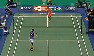 李雪芮VS布桑兰 2015台北公开赛 女单1/16决赛视频
