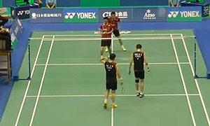 阿山/塞蒂亚万VS高成炫/申白喆 2015台北公开赛 男双1/4决赛视频