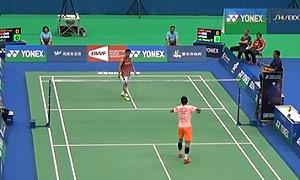 谌龙VS李宗伟 2015台北公开赛 男单1/4决赛视频