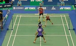 高成炫/金荷娜VS乔丹/苏珊托 2015台北公开赛 混双半决赛视频