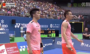 傅海峰/张楠VS费尔纳迪/苏卡穆约 2015台北公开赛 男双决赛视频