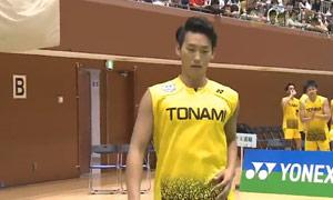 桃田贤斗VS山口容正 2015日本团体锦标赛 男单决赛视频