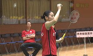高桥沙也加VS峰步美 2015日本团体锦标赛 女单决赛视频