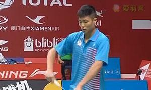 祖尔法里VS周天成 2015羽毛球世锦赛 男单资格赛视频
