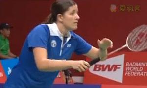 郑清亿VS奇科尼尼 2015羽毛球世锦赛 女单资格赛视频