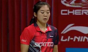 荣谢弗VS科拉莱斯 2015羽毛球世锦赛 女单资格赛视频
