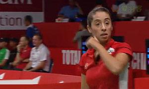 拜拉克塔VS谢沂逾 2015羽毛球世锦赛 女单资格赛视频
