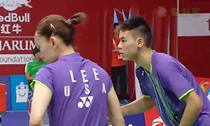 陈炳顺/吴柳萤VS舒之颢/李意恒 2015羽毛球世锦赛 混双资格赛视频