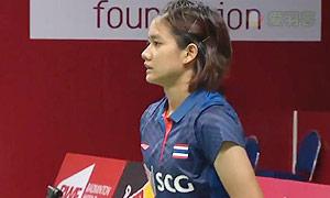 蓬迪VS吉尔莫 2015羽毛球世锦赛 女单资格赛视频