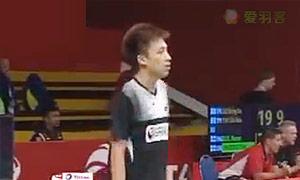 坦农萨克VS黄梓良 2015羽毛球世锦赛 男单1/16决赛视频