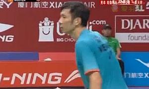 阮天明VS卡什亚普 2015羽毛球世锦赛 男单1/16决赛视频