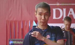 李宗伟VS茨维布勒 2015羽毛球世锦赛 男单1/16决赛视频