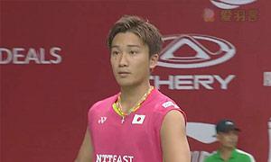 桃田贤斗VS马丁 2015羽毛球世锦赛 男单1/16决赛视频