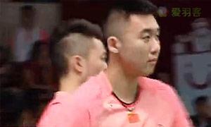 嘉村健士/园田启悟VS柴飚/洪炜 2015羽毛球世锦赛 男双1/16决赛视频