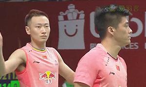 傅海峰/张楠VS福克斯/舍特勒 2015羽毛球世锦赛 男双1/16决赛视频