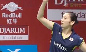 内维尔VS高桥沙也加 2015羽毛球世锦赛 女单1/8决赛视频
