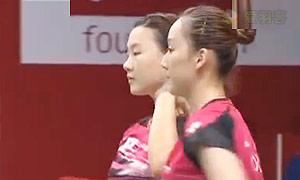 佩蒂森/尤尔VS李绍希/申升瓒 2015羽毛球世锦赛 女双1/8决赛视频