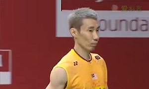 李宗伟VS王睁茗 2015羽毛球世锦赛 男单1/8决赛视频