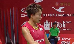 桃田贤斗VS阮天明 2015羽毛球世锦赛 男单1/8决赛视频