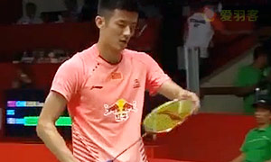 谌龙VS阿萨尔森 2015羽毛球世锦赛 男单1/4决赛视频