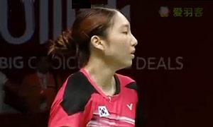成池铉VS辛德胡 2015羽毛球世锦赛 女单1/4决赛视频