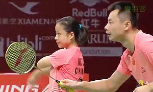 徐晨/马晋VS阿伦茨/皮克 2015羽毛球世锦赛 混双1/4决赛视频