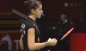 马琳VS成池铉 2015羽毛球世锦赛 女单半决赛视频