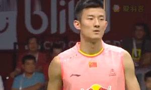 谌龙VS桃田贤斗 2015羽毛球世锦赛 男单半决赛视频