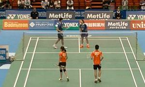 陈炳顺/吴柳萤VS王懿律/骆羽 2015日本公开赛 混双1/16决赛视频