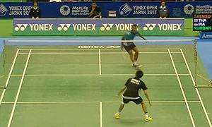 狄奥尼修斯VS坦农萨克 2015日本公开赛 男单1/16决赛视频