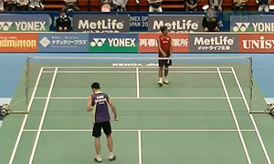桃田贤斗VS魏楠 2015日本公开赛 男单1/16决赛视频