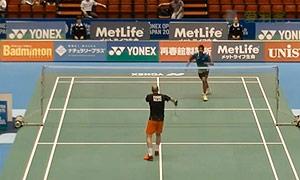 斯里坎特VS埃文斯 2015日本公开赛 男单1/16决赛视频