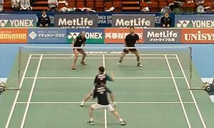 苏吉特/莎拉丽VS阿伦茨/皮克 2015日本公开赛 混双1/16决赛视频