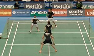 佩蒂森/尤尔VS川岛里罗/尾崎沙织 2015日本公开赛 女双1/8决赛视频