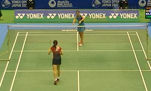 马琳VS高桥沙也加 2015日本公开赛 女单1/8决赛视频