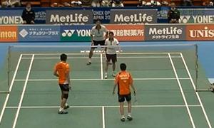 艾哈迈德/纳西尔VS廖敏竣/陈晓欢 2015日本公开赛 混双1/8决赛视频