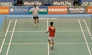 毛拉那VS胡赟 2015日本公开赛 男单1/8决赛视频
