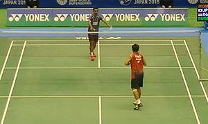 苏吉亚托VS桃田贤斗 2015日本公开赛 男单1/8决赛视频