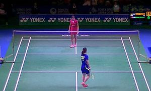 王适娴VS马琳 2015日本公开赛 女单1/4决赛视频