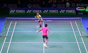 林丹VS田厚威 2015日本公开赛 男单1/4决赛视频