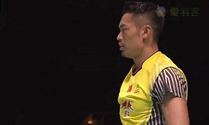 林丹VS苏吉亚托 2015日本公开赛 男单半决赛视频