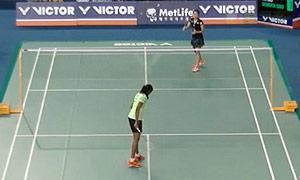 辛德胡VS因达农 2015韩国公开赛 女单1/16决赛视频