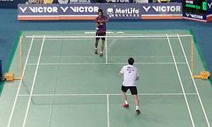 贾亚拉姆VS黄永棋 2015韩国公开赛 男单1/8决赛视频