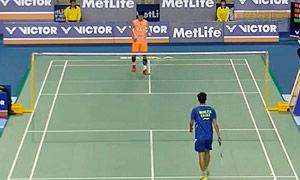 谌龙VS王睁茗 2015韩国公开赛 男单1/8决赛视频