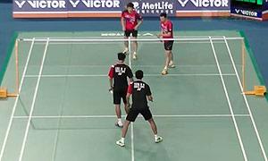 李龙大/柳延星VS廖敏竣/曾敏豪 2015韩国公开赛 男双1/8决赛视频