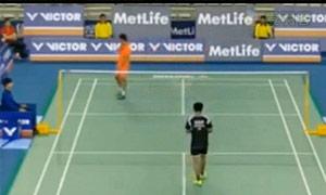 田厚威VS毛拉那 2015韩国公开赛 男单1/8决赛视频