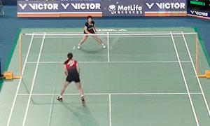 山口茜VS高橋沙也加 2015韓國公開賽 女單1/4決賽視頻
