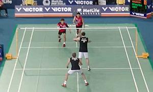 鲍伊/摩根森VS高成炫/申白喆 2015韩国公开赛 男双1/4决赛视频