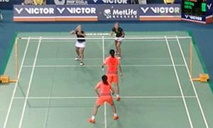 骆赢/骆羽VS穆斯肯斯/皮克 2015韩国公开赛 女双1/4决赛视频